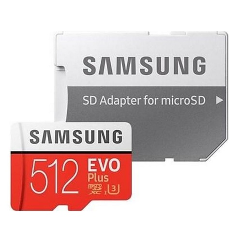 Samsung EVO Plus MicroSDXC Card (2020) C10 U3 UHS-I w/Adapter