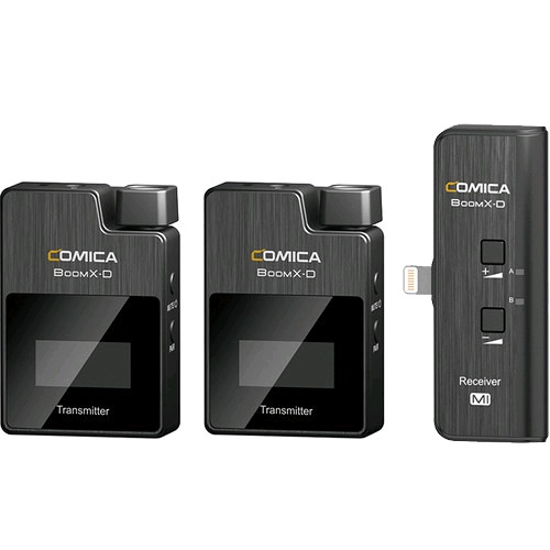 Comica Microphone - BoomX-D MI2 Digital Wireless Microphone System