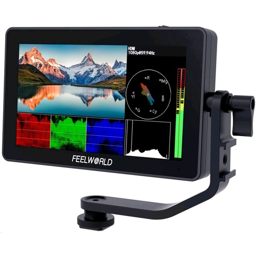 "FeelWorld F6 Plus 5.5"" Touchscreen 3D LUT Monitor"