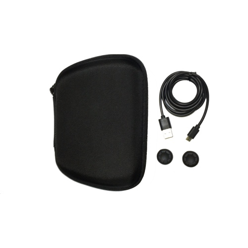 REDIX EVA Pouch Kit with Charging cable & thumb Caps for PS5 Controller