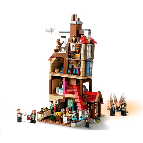 Lego 75980 Harry Potter - Attack on the Burrow Set