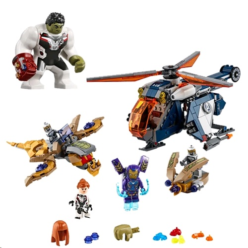 Lego 76144 Marvel Avengers Hulk Helicopter Rescue Set