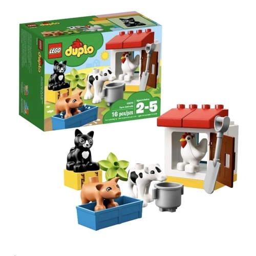 Lego 10870 Duplo Farm Animals Set