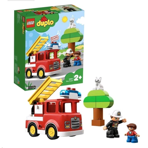 Lego 10901 Duplo Town Fire Truck set