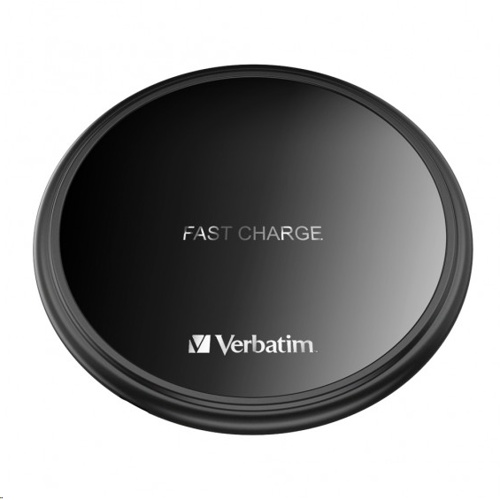 Verbatim 10W Flat Round Wireless Charging Pad