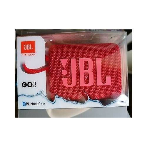 JBL GO 3 Portable Bluetooth Speaker