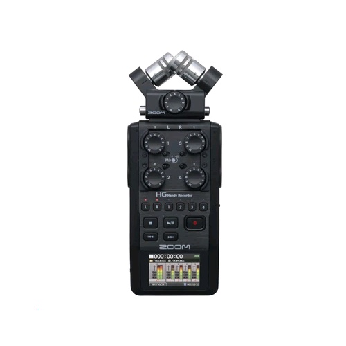 Zoom H6 Handy Digital Voice Recorder