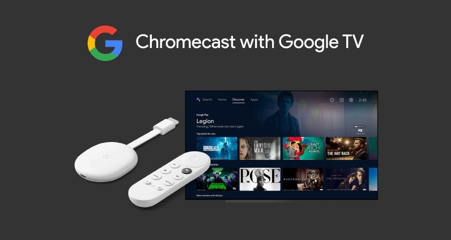 Google chromecast with Google TV