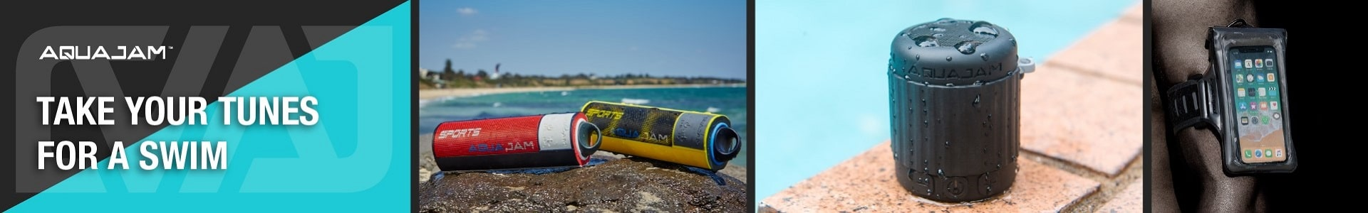 AquaJam Waterproof Speakers
