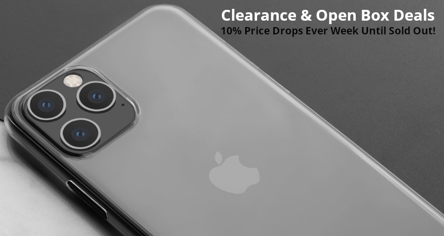 Clearance & Open Box Deals