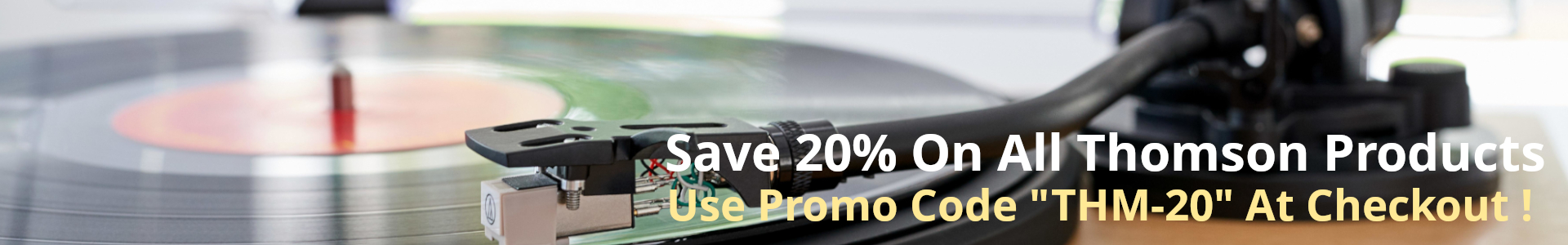 Save 20% On All Thomson Products